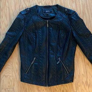 BNCI by Blanc Noir Black Leather Jacket
